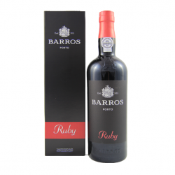 RED PORT WINE BARROS RUBY