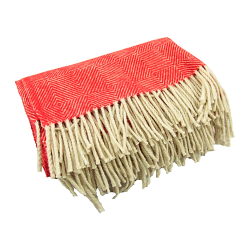 WOOL BLANKET, RED