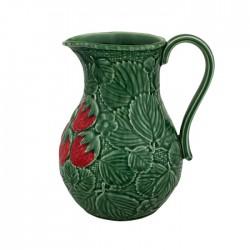 Ceramics pitcher with...