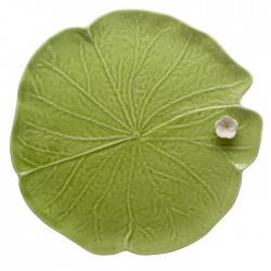 "FLAT PLATE ""WATER LILLY"",..."
