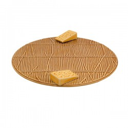 CHEESE TRAY, BROWN
