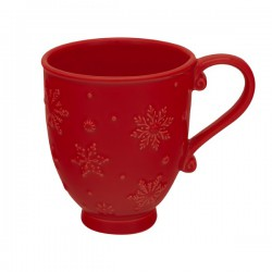 TEA OR COFFE MUG, RED