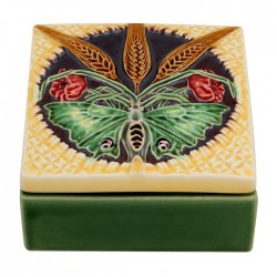 CERAMIC BOX WITH BUTTERFLY