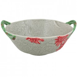 Salad bowl, mid-size, red...