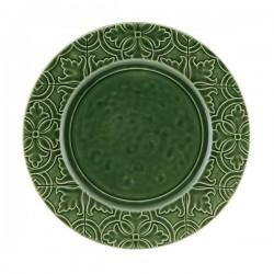 DINNER PLATE - 28 CM, GREEN