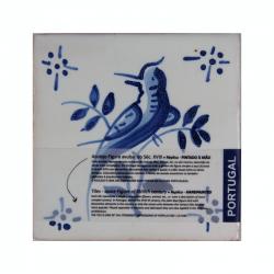 PASSARO - CERAMIC TILE BIRD