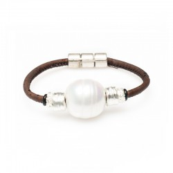 BRACELET WITH ARTIFICIAL...