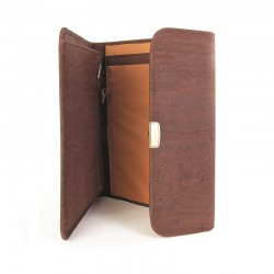 Document case with metal...