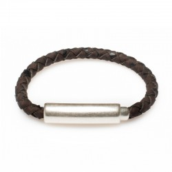BRACELET WITH TUBULAR LOCK