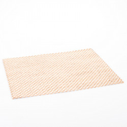 PLACEMAT (BEIGE + SILVER...