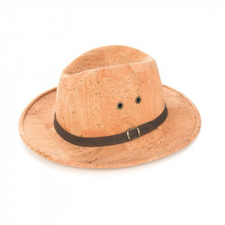KNIGHT HAT W/ SUEDE BROWN...