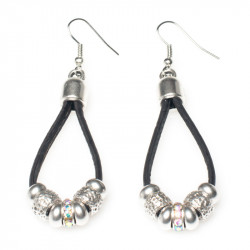 EARRINGS (BLACK)