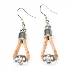 EARRINGS (BEIGE)