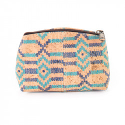 SMALL PURSE (ETHNIC BLUE)