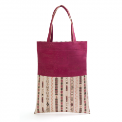 SHOPPING BAG (ETHNIC WHITE...