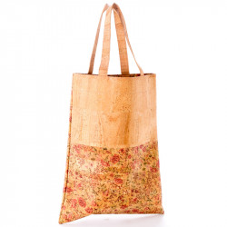 SHOPPING BAG (FLORAL/BEIGE)