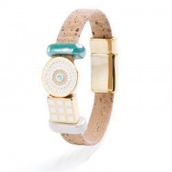 BRACELET WITH WHITE LUCKY...
