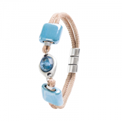 BRACELET WITH STONE AND...