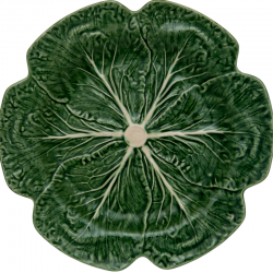 CHARGER PLATE 30,5 CM, CABBAGE