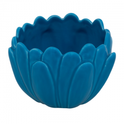 BOWL - 16,5 CM, BRIGHT BLUE