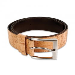 MEN`S BELT (35MM) (BEIGE) 100