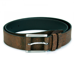 MEN`S BELT (35MM) (BROWN) 100