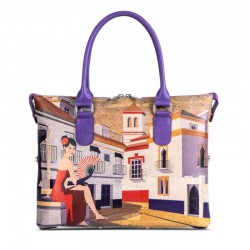 CORK HANDBAG 3 IN 1 - SEVILLE
