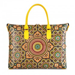 CORK HANDBAG 3 IN 1 - MOROCCO