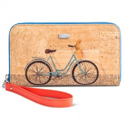 CORK WALLET - BICYCLE