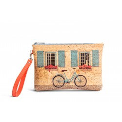 CORK PURSE - BICYCLE
