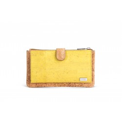 PURSE/WALLET - YELLOW AND...
