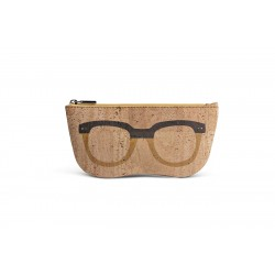 GLASSES CASE (BEIGE + YELLOW)