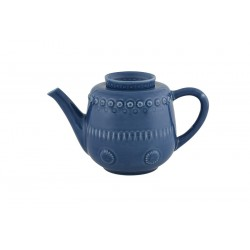 TEA POT, DARK BLUE