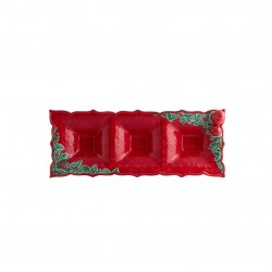 APPETIZERS TRAY - 40,5 CM, RED