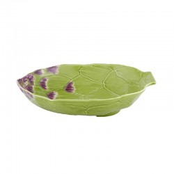 PASTA PLATE 28 CM, GREEN -...