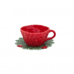 CUP WITH SAUCER -...