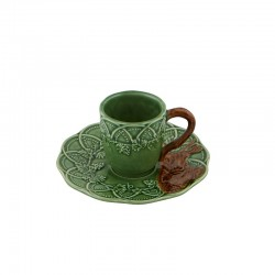 COFFEE CUP & SAUCER 14CM DEER