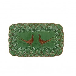 TRAY 34 PHEASANTS BOSQUE