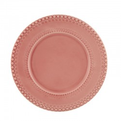 CHARGER PLATE 34 PINK FANT...