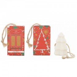 CHRISTMAS HANGING SOAP RED...