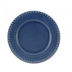 DINNER PLATE 29 BLUE FANT AZUL