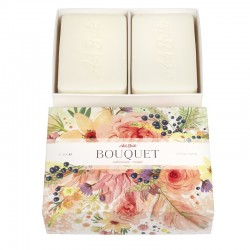 SET OF TWO SOAPS - FLOWER...