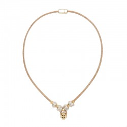NECKLACE WITH BLACK AND...