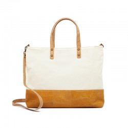 SHOPPING BAG WITH YELLOW...