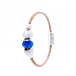 BRACELET WITH FACETATED...