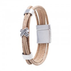 BRACELET WITH DOEWLS AND...