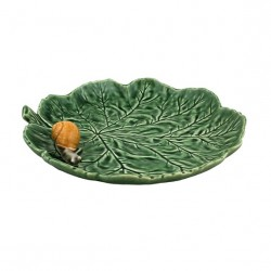PLATE WITH A LITTLE SNAIL,...