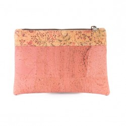 COSMETIC PURSE PINK/FLORAL