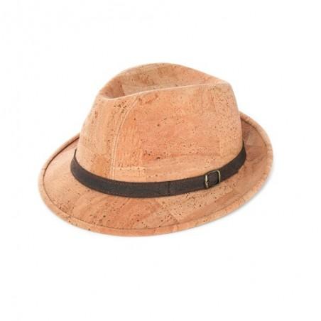 Korkový klobouk FEDORA Hat size 58 d136d6a4df